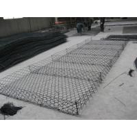 China Eco Friendly Gabion Wire Mesh , Gabion Wire Cages For Rock Retaining Walls  on sale