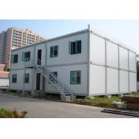 China Double - Deck Modular Container House , Living Container House With External Stairs wholesale