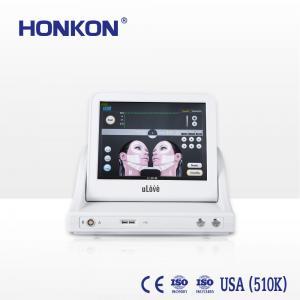 China HIFU Machine For Wrinkle Removal Skin Tightening HIFU Facial Skin Be Young Honkon Ulove01 on sale