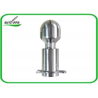 Quality Bolt Pin Fixed Sanitary Spray Balls Rotary Spray Cleaning For Cleaning Hygienic Tank for sale