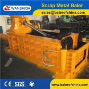 China Three Ram Forwarder out Scrap Metal Baling Press/Metal Baler wholesale
