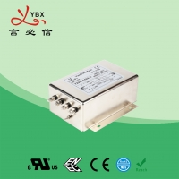 China 100A Three Phase Inverter EMI Filter / Power Inverter Noise Filter wholesale