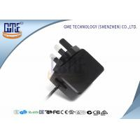 China 6 Volt Switching Power Supply AC DC Universal Power Adapter UK Plug wholesale