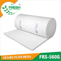 China EU5 (Eurovent ) Ceiling filter  in spray booth air inflow system wholesale