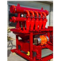China High efficiency solids control D-silter separator used in well drilling for sale wholesale