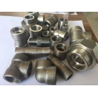China Metal Duplex Stainless Steel Pipe Fittings ASTM A182 F51 S31803 S32205 Elbow Tee Cross Pipe Cap on sale