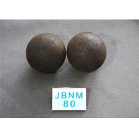 Quality Customized Size Hot Rolling Steel Balls / Grinding Balls for Ball Mill High Precision for sale