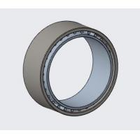 China CRB8416B carbon steel non-standard flange bearing  steel bearing WITHOUT plastic cage or plastic cage wholesale