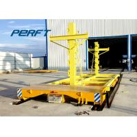 China 9 Ton Cable Reel Power Motorized Transfer Trolley For Machaine Parts Handling wholesale