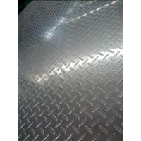 China 304 Cold Rolled And Hot rolled Tear Drop Stainless Steel Chequered Plate For Skid Resistance wholesale