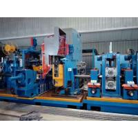 China Cold Saw Stainless Steel Tube Mill , SS Tube Mill Machine 100 × 100mm Pipe Size wholesale
