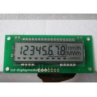 Buy cheap 3 Lines Series Interface 8 Digit 7 Segment Display TN For Electricity Meter from wholesalers