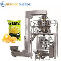 China 3kw Popcorn Packing Machine / Industrial Food Packaging Equipment 1800*1250*1780mm on sale