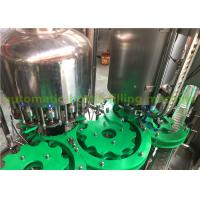China Flavor Water Liquid Bottle Filling Machine , 3 In 1 Juice Production Machine / Line wholesale