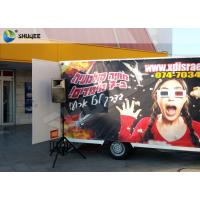 China Mobility Stimulating 9D Movie Theater 9D Virtual Reality Cinema With Thriller Films wholesale