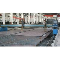 China Precision Gantry Type CNC Plasma Cutting Machine , Industrial CNC Plasma Cutter on sale