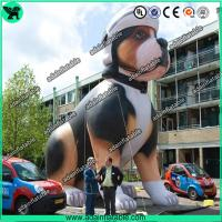 China High Quality Custom Made Advertising Inflatables , Lovely Puppy Inflatable Dog wholesale