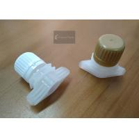 China Security Seal Screw Baby Food Pouch Tops Plastic Injection Moulding For Doypack on sale