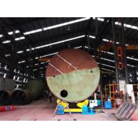 China 40T Self Aligned Welding Rotator For Air Receivers Casing Pipes And Process Tanks on sale