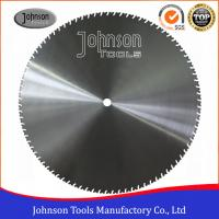 China Laser Welding 1400mm Diamond Wall Cutting Blade with 4.8mm / 5mm Thickness wholesale