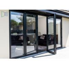 China Residential 4 Panel Bifold Door , Powder Coated Aluminium Bifold Doors wholesale