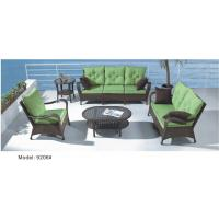 China 5-piece patio Resin Wicker Contemporary Deep Seat Sofa with Cushion -9206 wholesale
