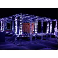 China Sturdy Square Aluminum Truss System , Customized On Stage Stands Truss wholesale
