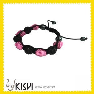 China ODM Fashion Hot Sell 12mm CZ rhinestone Shamballa Crystal Bangle Bracelets wholesale