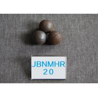 China B2 D20MM  Hot Rolling Steel Ball   Surface Hardness 58-62HRC Grinding Media wholesale
