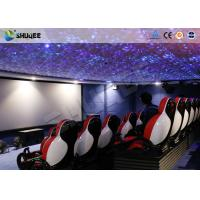 China 30 People Motion Chairs XD Theatre With Cinema Simulator System / Special Effect wholesale