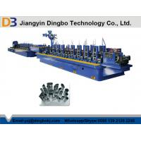 China Stainless Steel ERW Tube Mill , Pipe Welding Line Flying Saw Cutting System wholesale