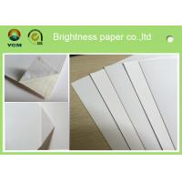 China Waterproof White Cardboard Sheets For Magazine Cover 190gsm -- 400gsm wholesale