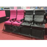 China Environment Effect Customize Movie Theater Black  / White Chairs Electric System wholesale