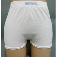 Quality Warp Knitted Pull Up Incontinence Pants With Breathable Fixation for sale