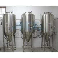 China Hot Sale Jacketed Stainless Steel Conical Fermenter For Beer&  Beer Tank 1000L For Sale wholesale