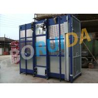 China 2000kgs Operator Cab Construction Material Hoist Dual Cage SC2000 / 200 wholesale