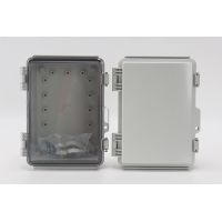 China IP65 Hinged Plastic Enclosures Weatherproof With SS Latch wholesale