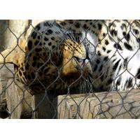 China 7*7 Stainless Steel Animal Enclosure Mesh , Bird Enclosure Netting For Zoo wholesale