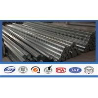 China 40 FT Octagonal Hot Dip Galvanized Tubular Steel Poles For Transimission Power Line wholesale