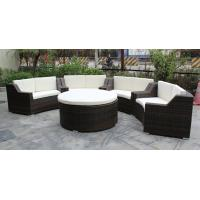 China 5 piece -Hotel conference room meeting chairs with rattan round ottoman commercial furniture-16200 wholesale