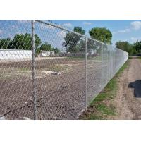 China 40 x 40 / 50 x 50 / 60 x 60 Metal Chain Link Fence For Baseball Sport Field wholesale