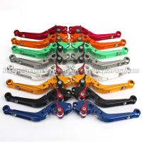 China Folding Extendable Motorcycle Brake Clutch Lever For Street Racing Bike wholesale