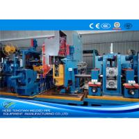 China Welded Industrial Tube Mills Galvanised Steel Production Line 70m / Min Running Speed wholesale