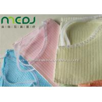 Quality Neck Notch Dental Patient Apron Medical Disposable Paper And PE Bib With Tie On for sale