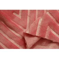 Buy cheap Pink Wool Flannel Fabric , Organic Cotton Flannel Fabric 160cm Width product