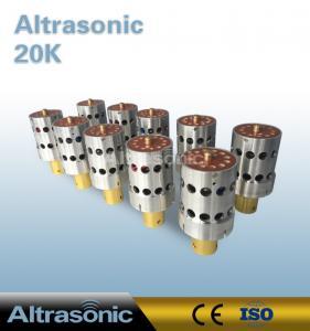 China 2000 Watt 20 KHz Ultrasonic Converter / Ultrasonic Welding Transducer wholesale