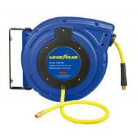 China Goodyear Hybrid Polymer Retractable Water Hose Reel Max 300 Psi wholesale