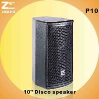 """China P10 10"""" Two Way Professional Speaker wholesale"""