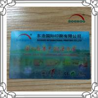 China Moving Pictures 3D Print Business Cards Polish / Matte Surface wholesale