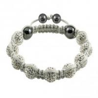 Quality Crystal Bangle Bracelets CJ-B-105 for sale
